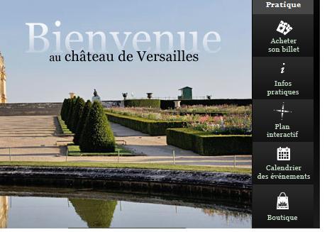 Agenda  Chateau de Versailles 2014 :