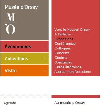 Agenda Musée d'Orsay 2014