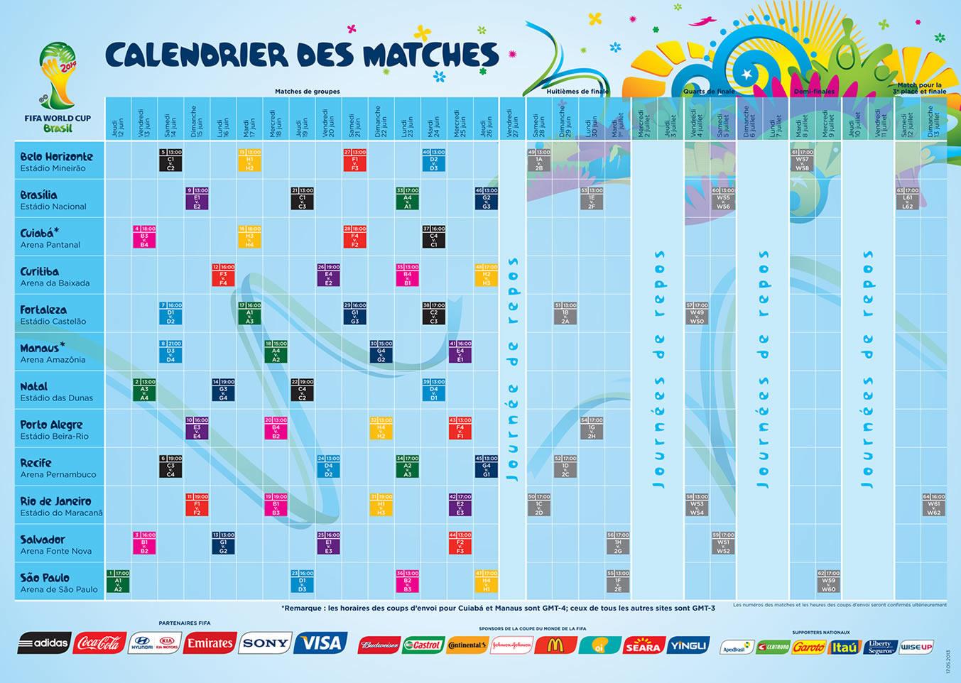 calendrier a imprimer de la coupe du monde de rugby 2018